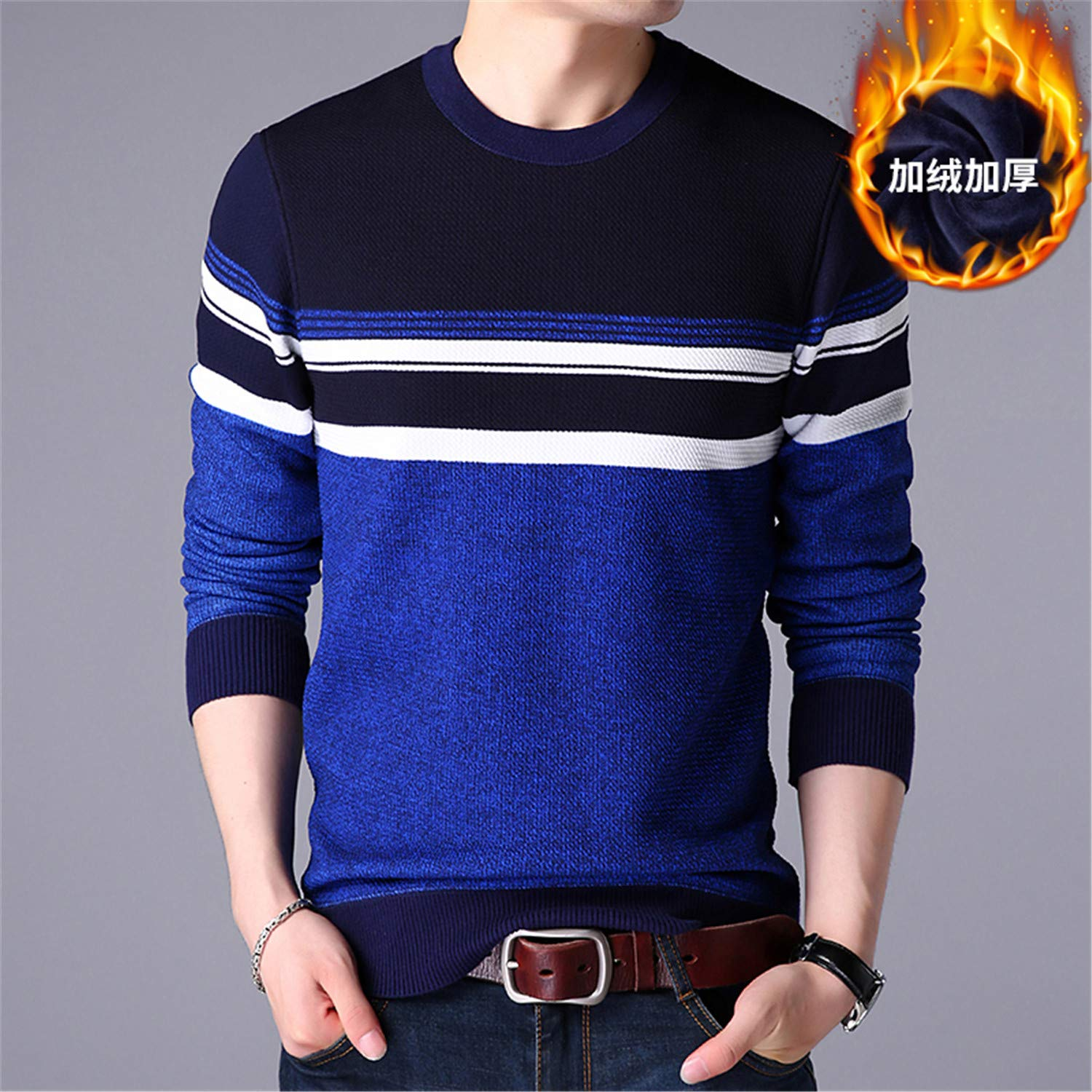 Giles Abbot Men Sweater Winter Round Collar Neck Knitting Sweaters Male Casual Cashmere Pullovers