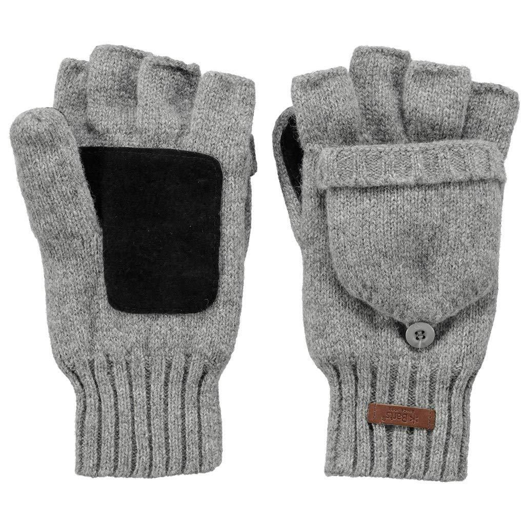 Barts Haakon Bum Gloves Heather Grey-M//L