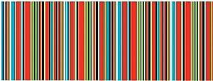 Fun Express - Fiesta Serape Border Roll 40ft for Cinco de Mayo - Party Decor - Wall Decor - Misc Wall Decor - Cinco de Mayo - 1 Piece