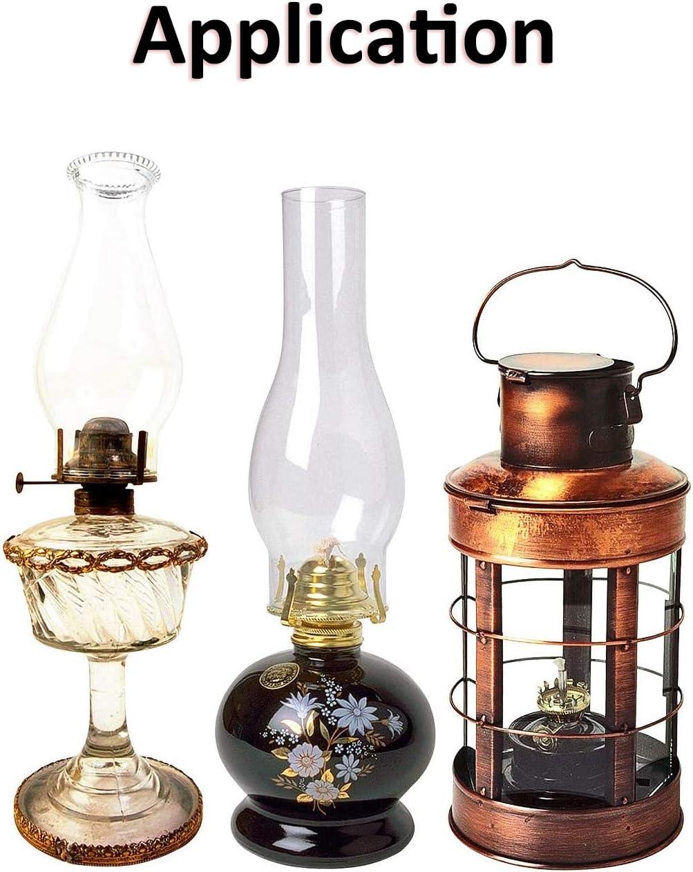 rouleau de 6 pieds//rouleau br/ûleur /à huile avec couture m/èche plate en coton pour lanterne /à huile 3//4 cm Onew M/èches de lampe