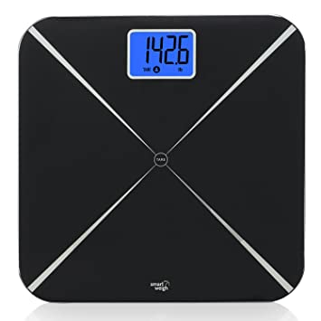5dac3f4208d Smart Weigh Digital Body Weight Scale with Baby or Pet Tare Weighing  Technology