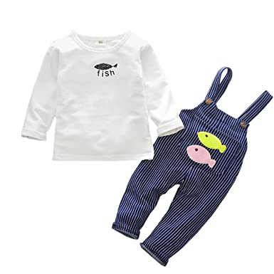 fe24bc137f63 Zerototens Newborn Infant Baby Boys Girls Long Sleeve Cartoon White ...