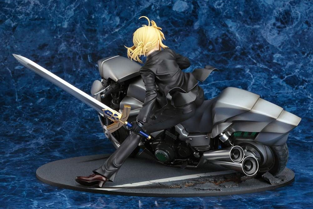 Anime fate stay night motorbike saber PVC figure collection anime toys new