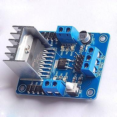 L298 N módulo controlador de motor paso a paso: Amazon.es: Industria, empresas y ciencia