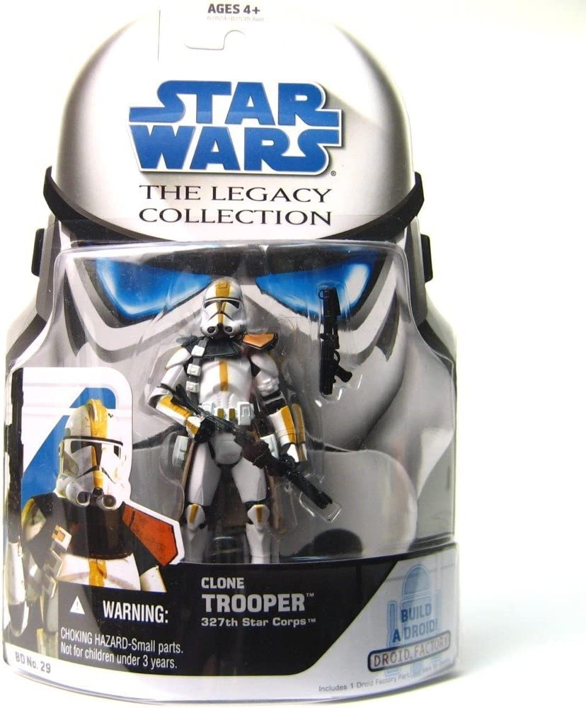 Clone Trooper 327th Star Corps BD No.29 29 STAR WARS Saga Collection MOC