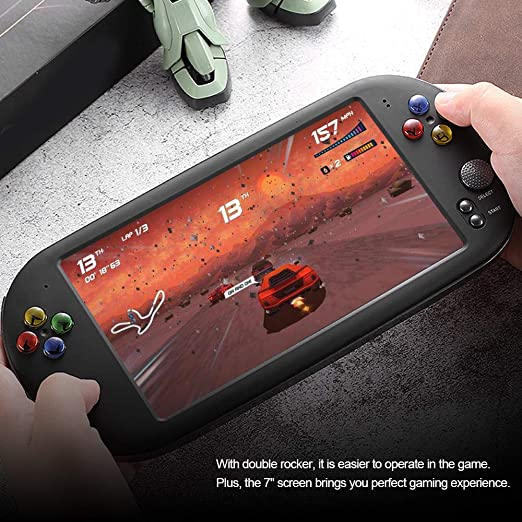 Goolsky X16 Handheld Game Video Game Console with Double Rocker for GBA NES  Games Support TF Card with 7
