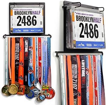 Gone for a Run BibFOLIO Plus Race Bib and Medal Display