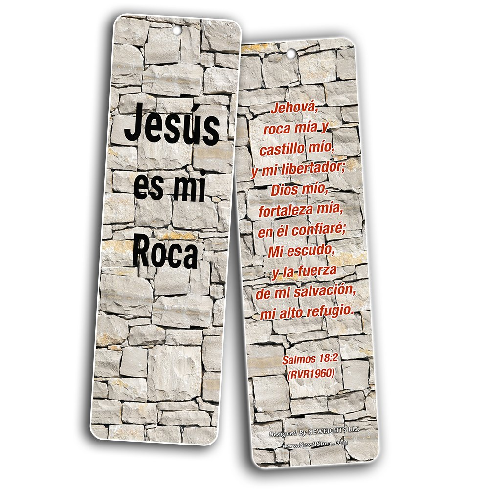 Spanish Favorite Bible Verses Bookmarks (60 Pack) - Bulk Collection & Gift with Inspirational, Motivational, Encouragement Messages by NewEights (Image #6)