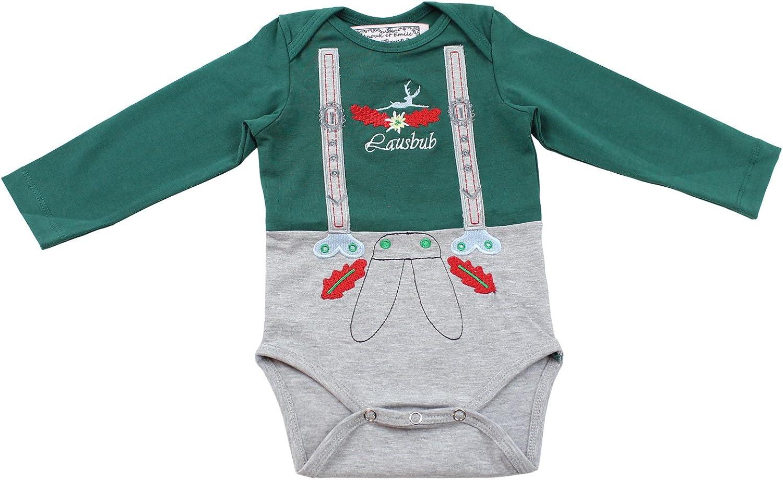 ANOUK et Emile Baby Body Tracht Camisa y pantalones de traje regional 2 in1 Trachten Look – Trachten Camisa + pantalones para bebés Talla 62 – 86: Amazon.es: Ropa y accesorios