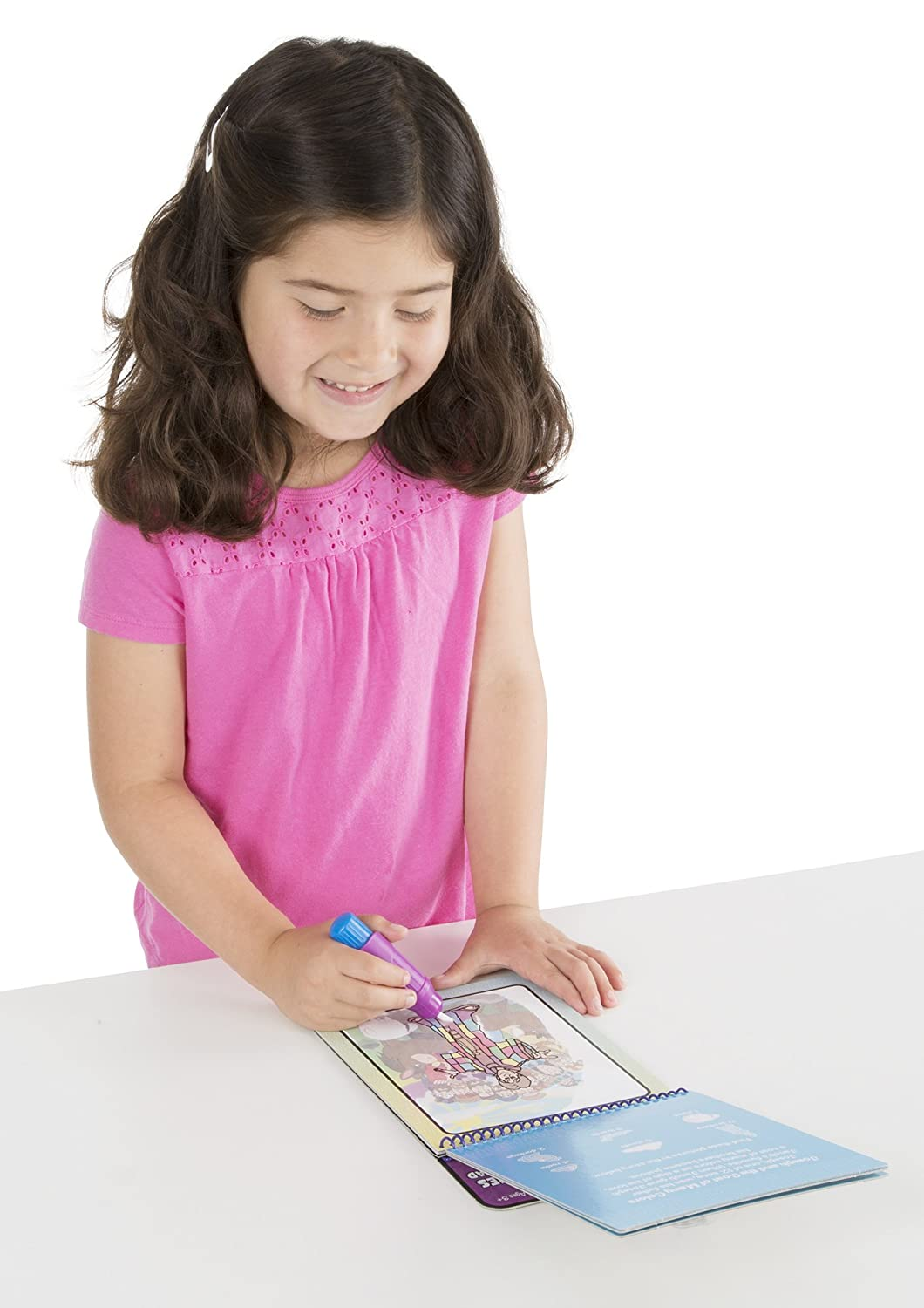 Amazon.com: Melissa & Doug On the Go Water Wow! Water Reveal Pad ...