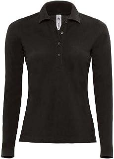 Modisches Damen Polo Shirt mit 3 4 Arm in Navy Blau, Gelb und Weiß ... c0d71c1c4b