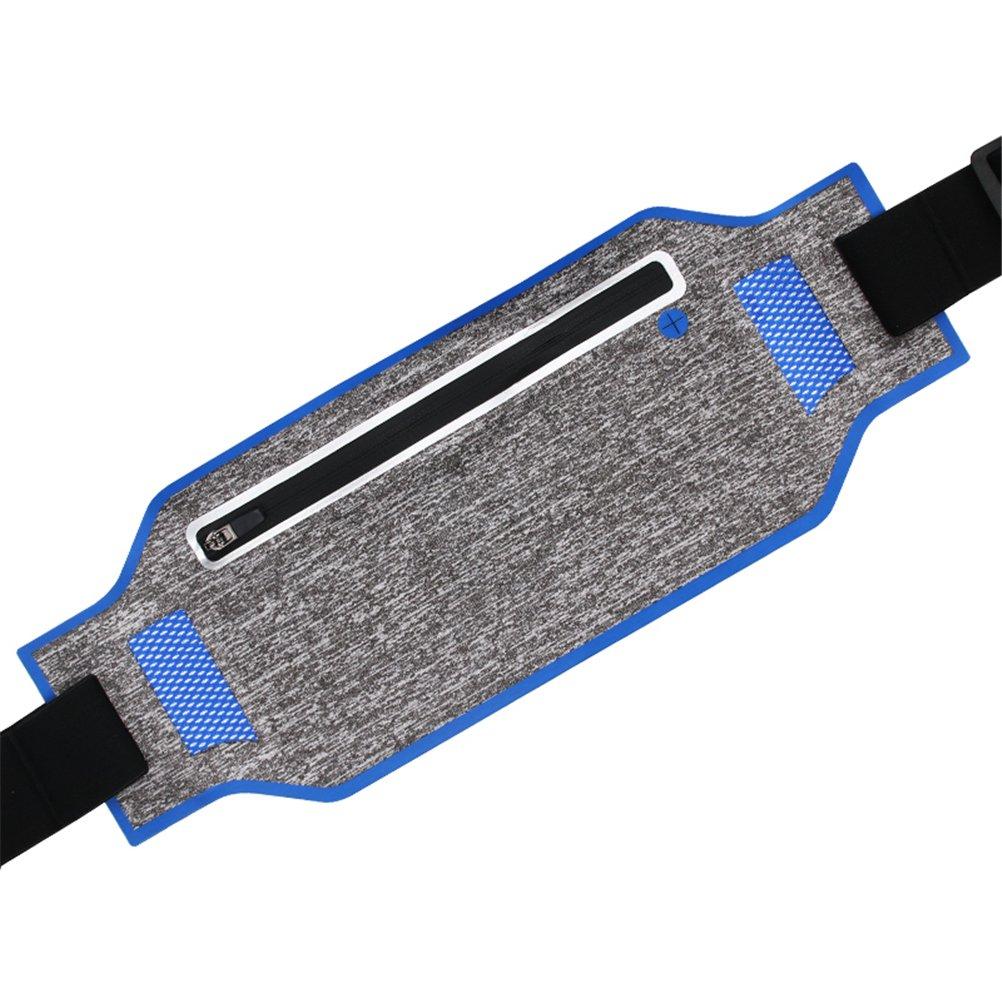 Darkblueee Waterproof Running Belt,Unisex Fitness Travel Workout Waist Pack For All Size Kinds Of Phones