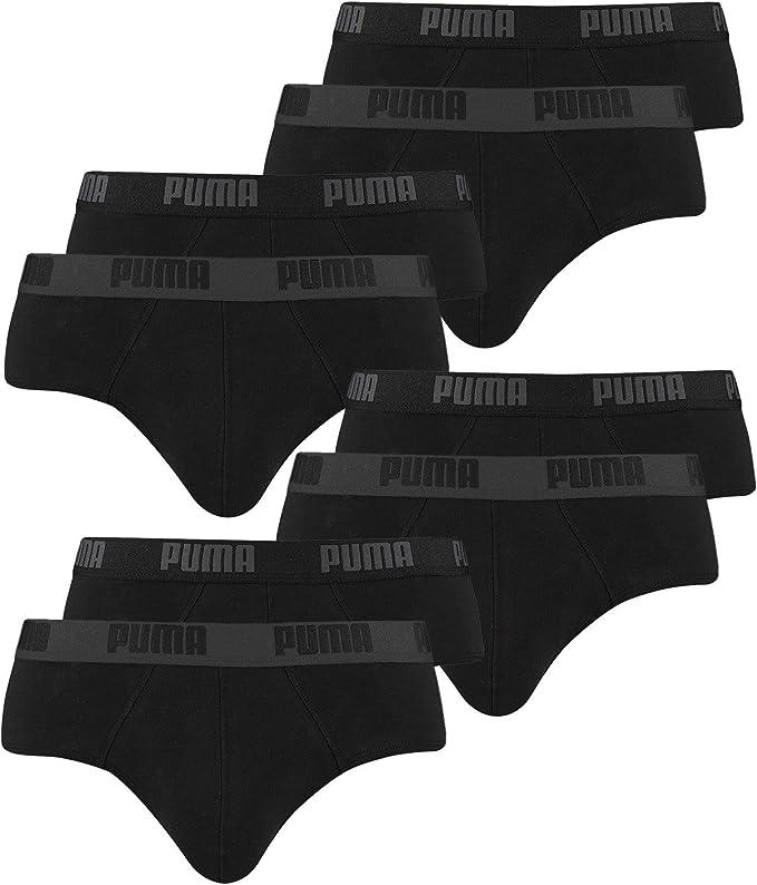 4er 6er 8er Pack PUMA Slips Briefs Unterhosen S M L XL Farbwahl
