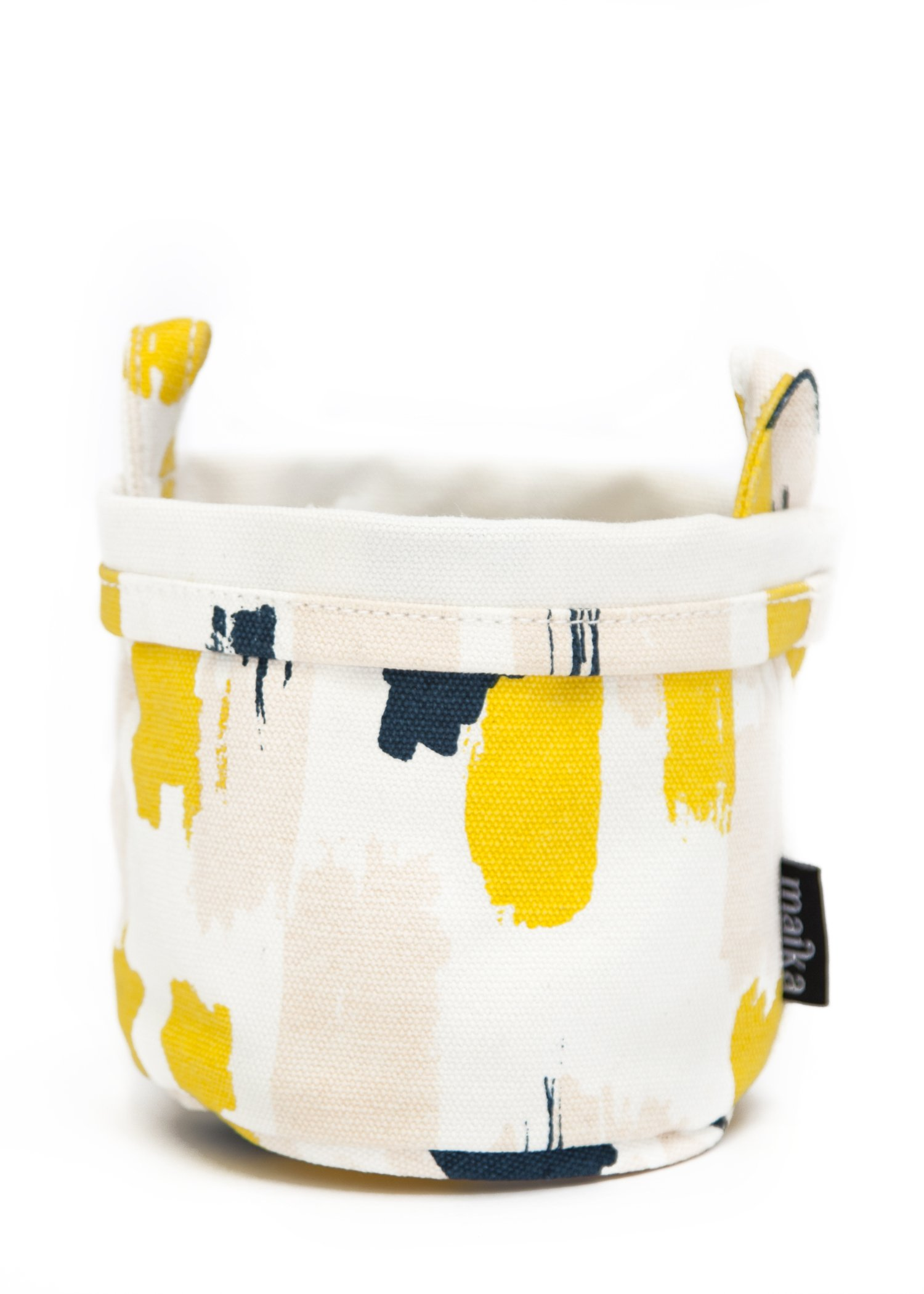 Maika Recycled Canvas Bucket, Rhythm (Large)