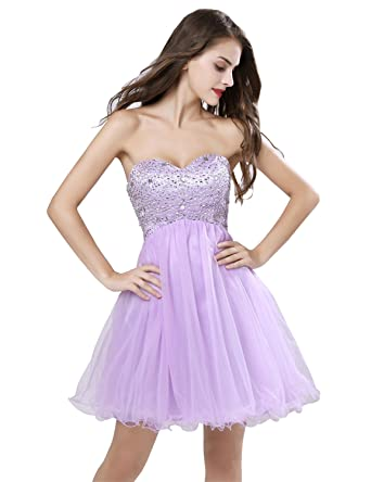 23007b1778f Belle House Short Homecoming Dresses 2018 Strapless For Juniors With Beading  Tulle Ball Gown
