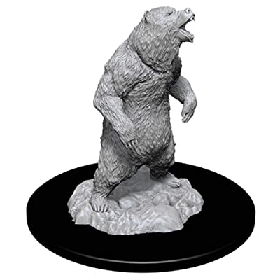 WizKids Deep Cuts Miniatures - Grizzly: Toys & Games