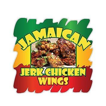 Amazon Jamaican Jerk Chicken Wings Concession Restaurant Food