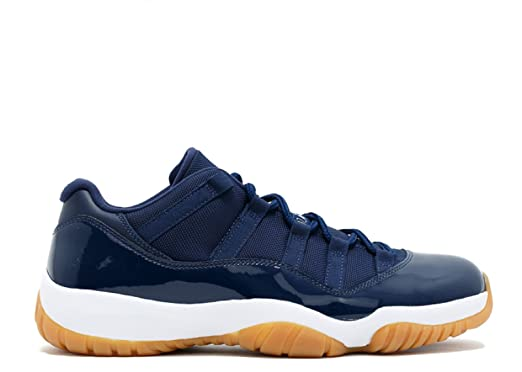Amazon.com: Jordan Nike Mens Air 11 Retro Low Midnight Navy Midnight Navy/White  Gum Leather Size 11: Sports & Outdoors