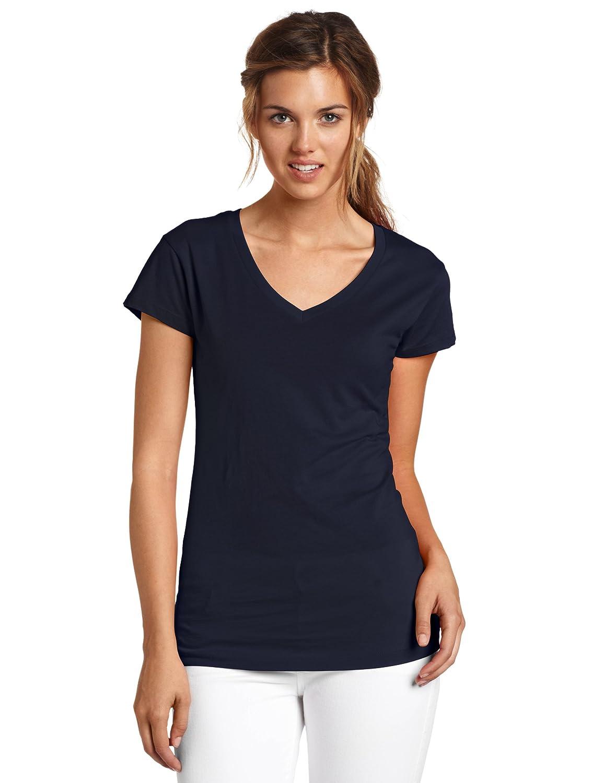 Dickies Juniors Solid Cap-Sleeve V-Neck T-Shirt