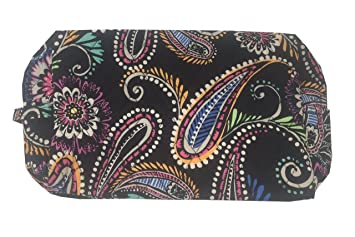Amazon.com   Vera Bradley Large Cosmetic (One size, Bandana swirl)   Beauty eeb00df569
