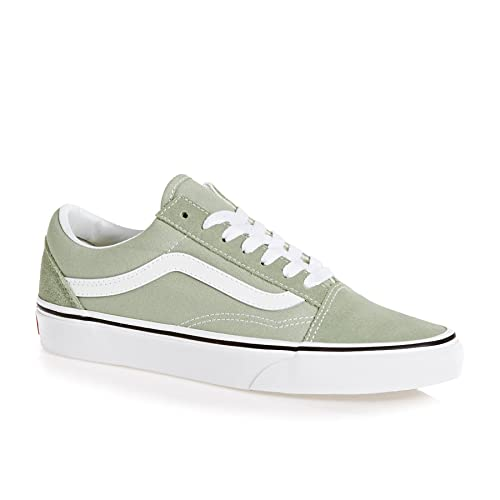 36505196fec96 Vans Old Skool Shoes 35 EU Desert Sage True White