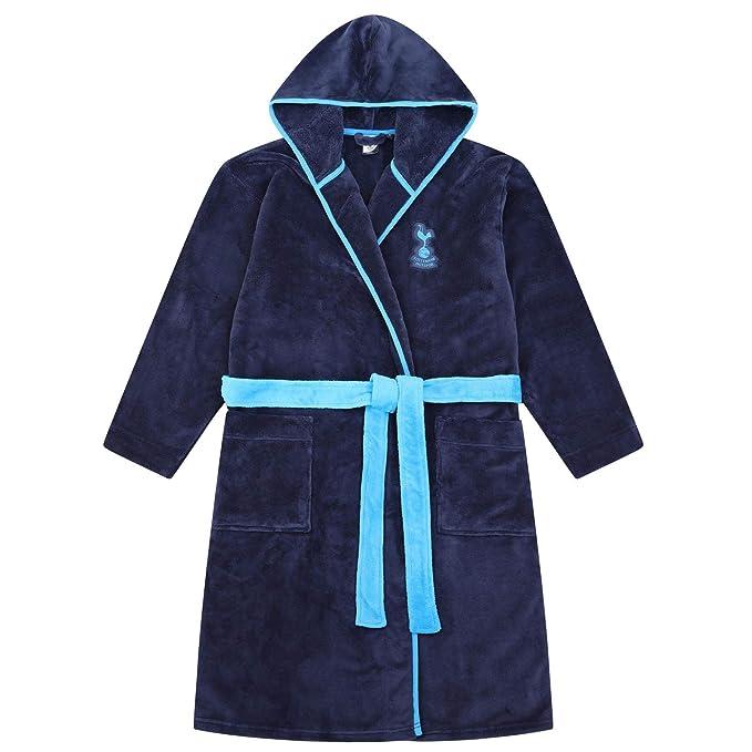 Tottenham FC Hooded Dressing Gown Bathrobe