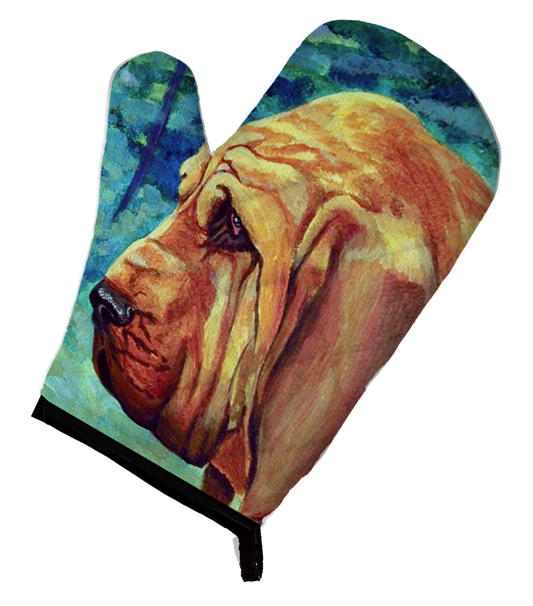 Caroline's Treasures 7013OVMT Bloodhound Oven Mitt, Large, multicolor