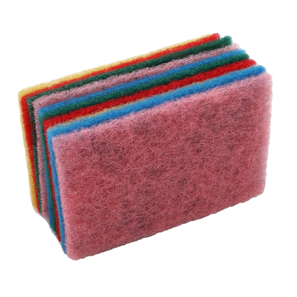86f4f403e31044 Guangqi set colorful scourer dish cloth rag cleaning cloth wipes strong  dish towel kitchen tool wash