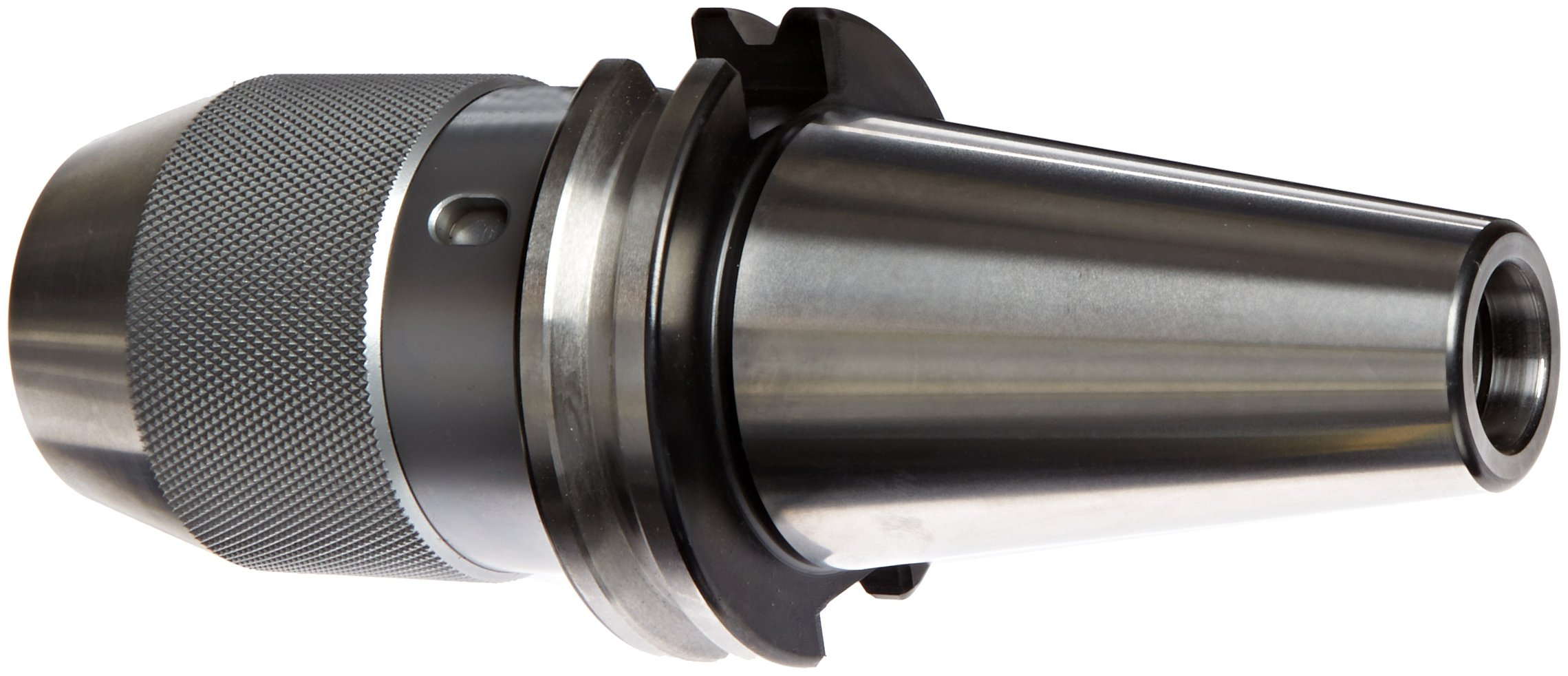 Dorian Tool CAT40 Shank Integral Keyless Drill Chuck Holder, 3.50'' Projection, 2'' Nose Diameter, 1/32'' - 1/2'' Capacity
