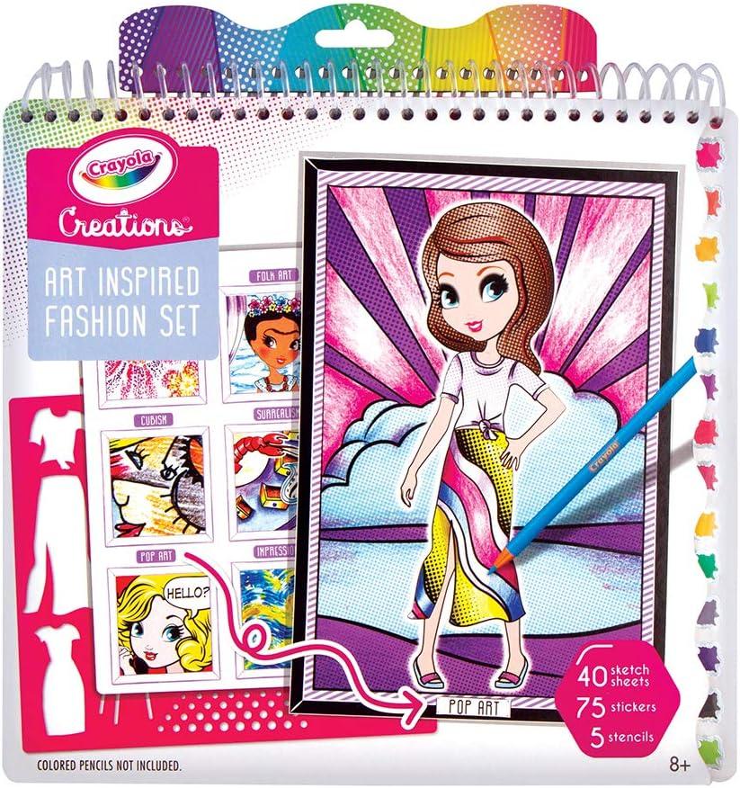 Amazon Com Crayola Creations Art History Fashion Set Toys Games