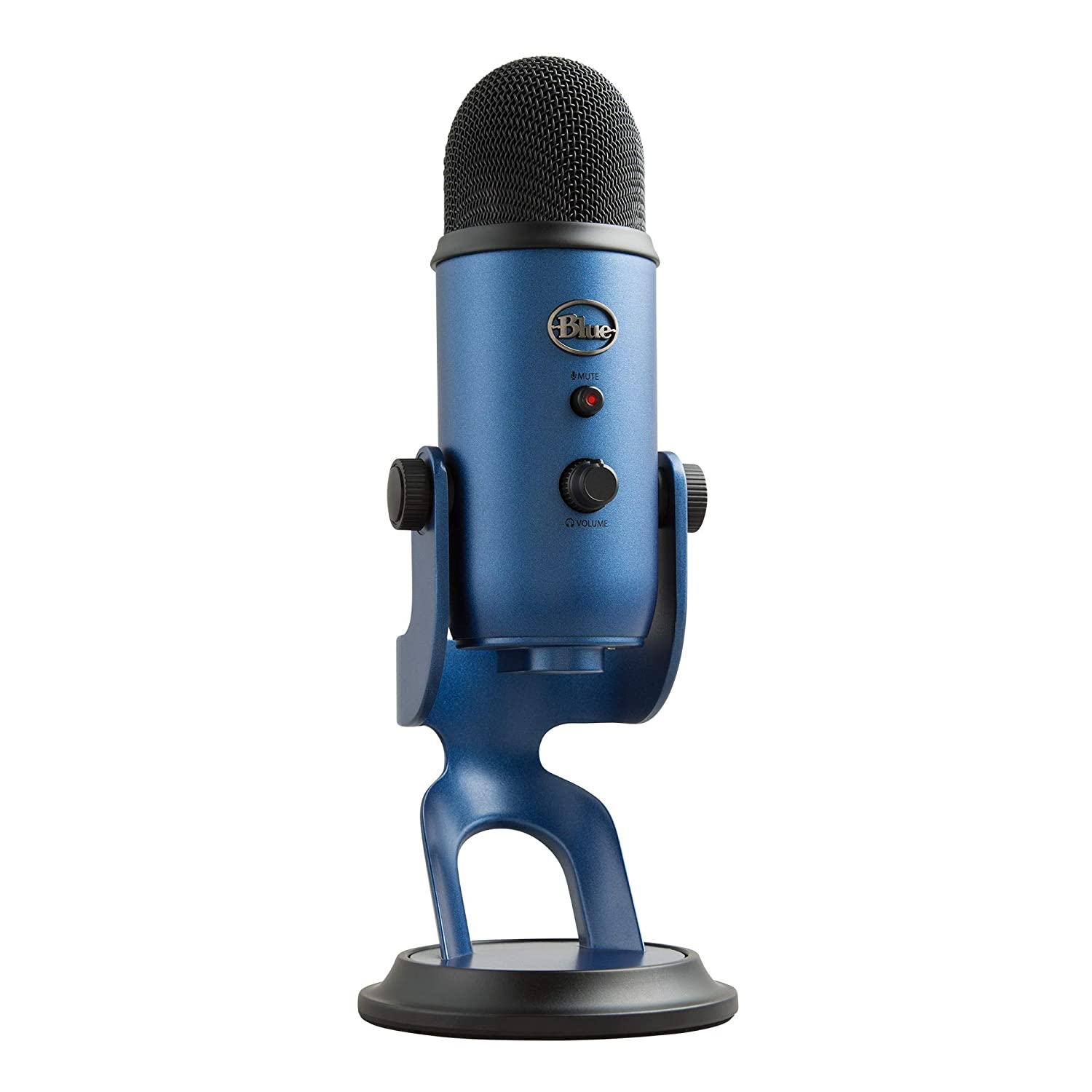 Blue Yeti USB Microphone, Midnight Blue