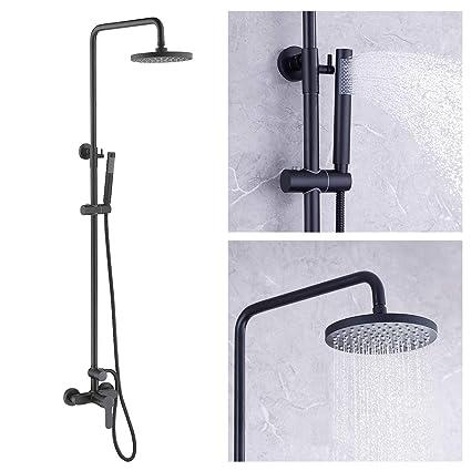 Amazon.com: Grifo de latón para ducha Kes X6008-P con ...