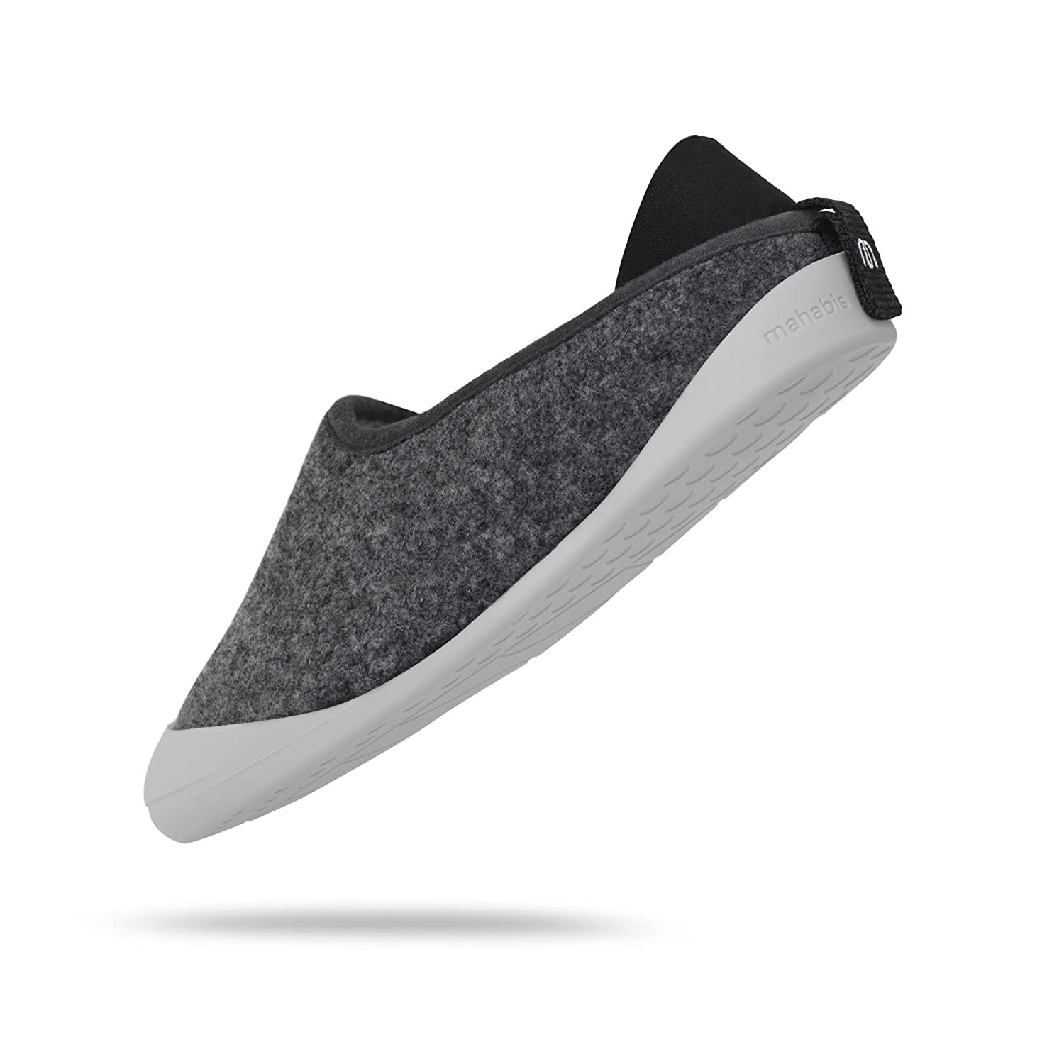 mahabis Larvik Dark Grey Summer Zapatillas con Suela Larvik Light Grey EN Talla 43 EU
