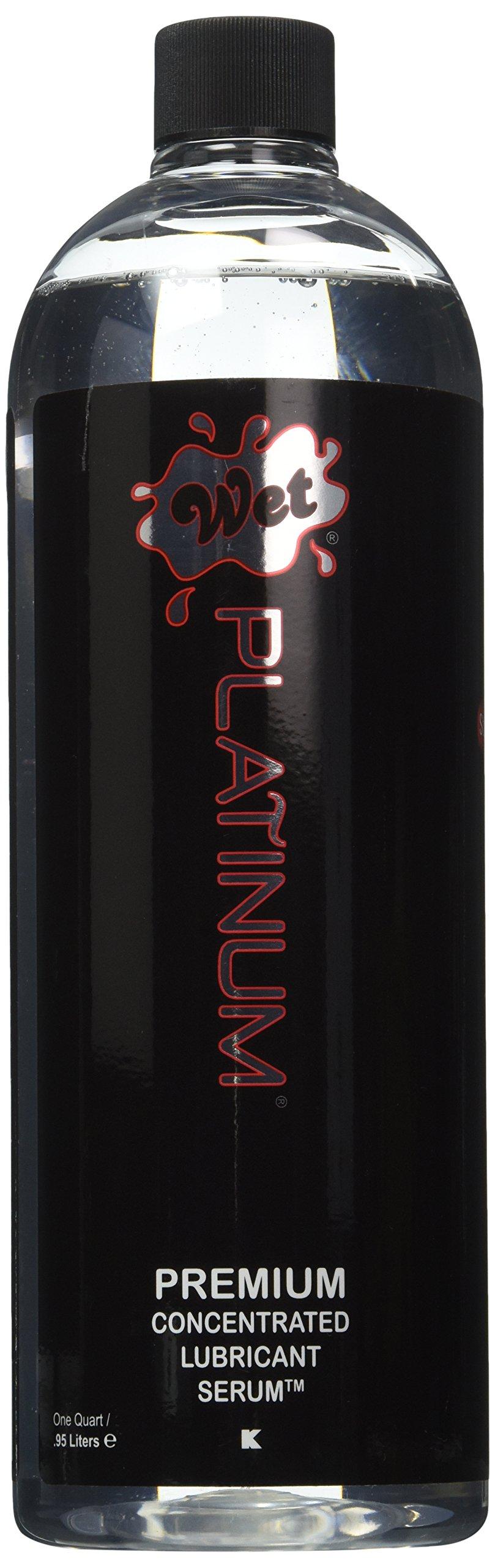 Wet Lubes Platinum Quart Lubricant, 1 Quart Bottle by Wet Lubes