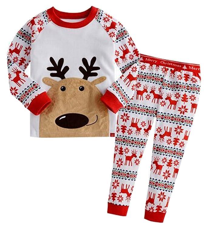 Xmas Reindeer Pajamas