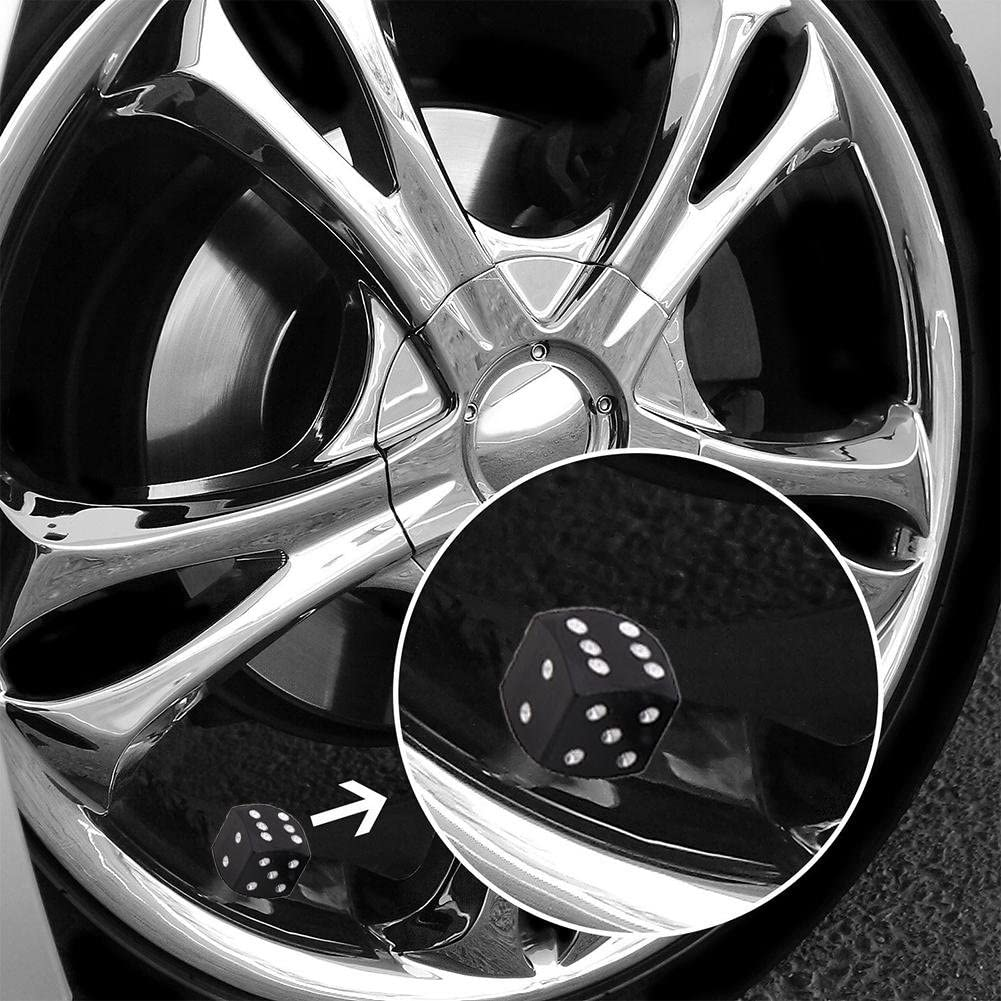 4Pcs Rainbow Car Wheel Tyre Tire Valve Stems Air Dust Covers Caps High Quality
