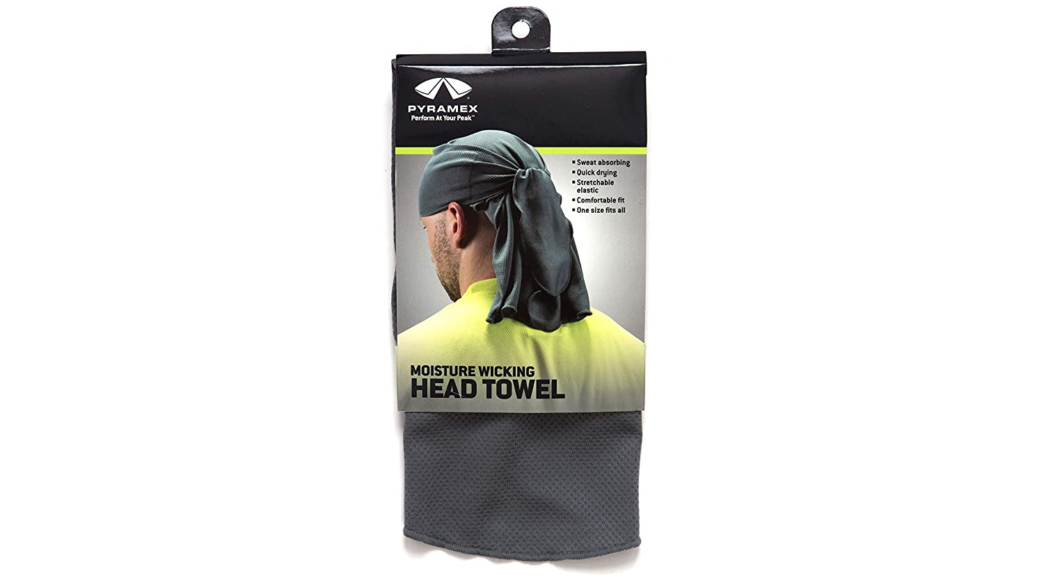 Pyramex Safety CSKT212 Cooling Head Towel - Skull Cap, PVA, One Size, Gray