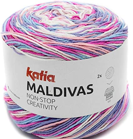 Lanas Katia Maldivas Ovillo de Color Rosa Cod. 88: Amazon.es: Hogar