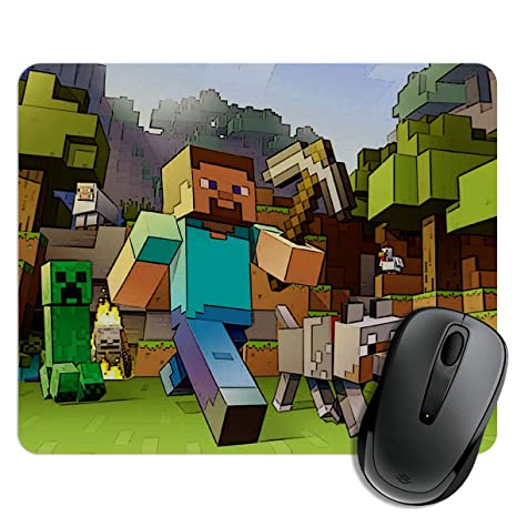Exciting Lives Minecraft Fan Art Mouse Pad For Gaming Pc Laptop
