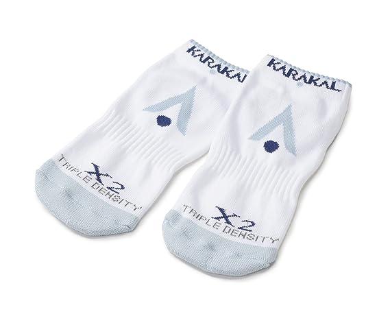 Karakal X2 técnica Zapatillas Calcetines, White/Grey - 3-6, Size 3-6: Amazon.es: Deportes y aire libre