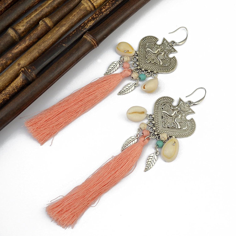 Generous Earrings Natural Peacock Earring Image 3