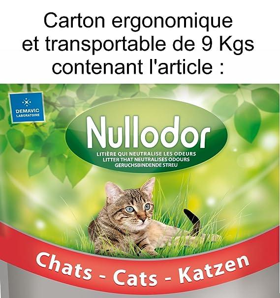 litiere chat nullodor avis