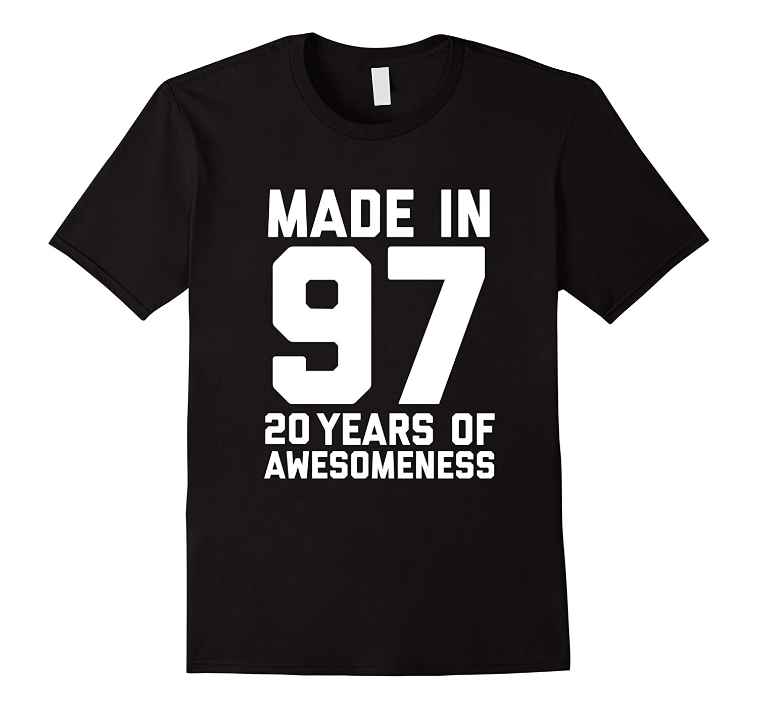 20th Birthday Shirt Gift Age 20 Year Old Mens Womens Tshirt-FL