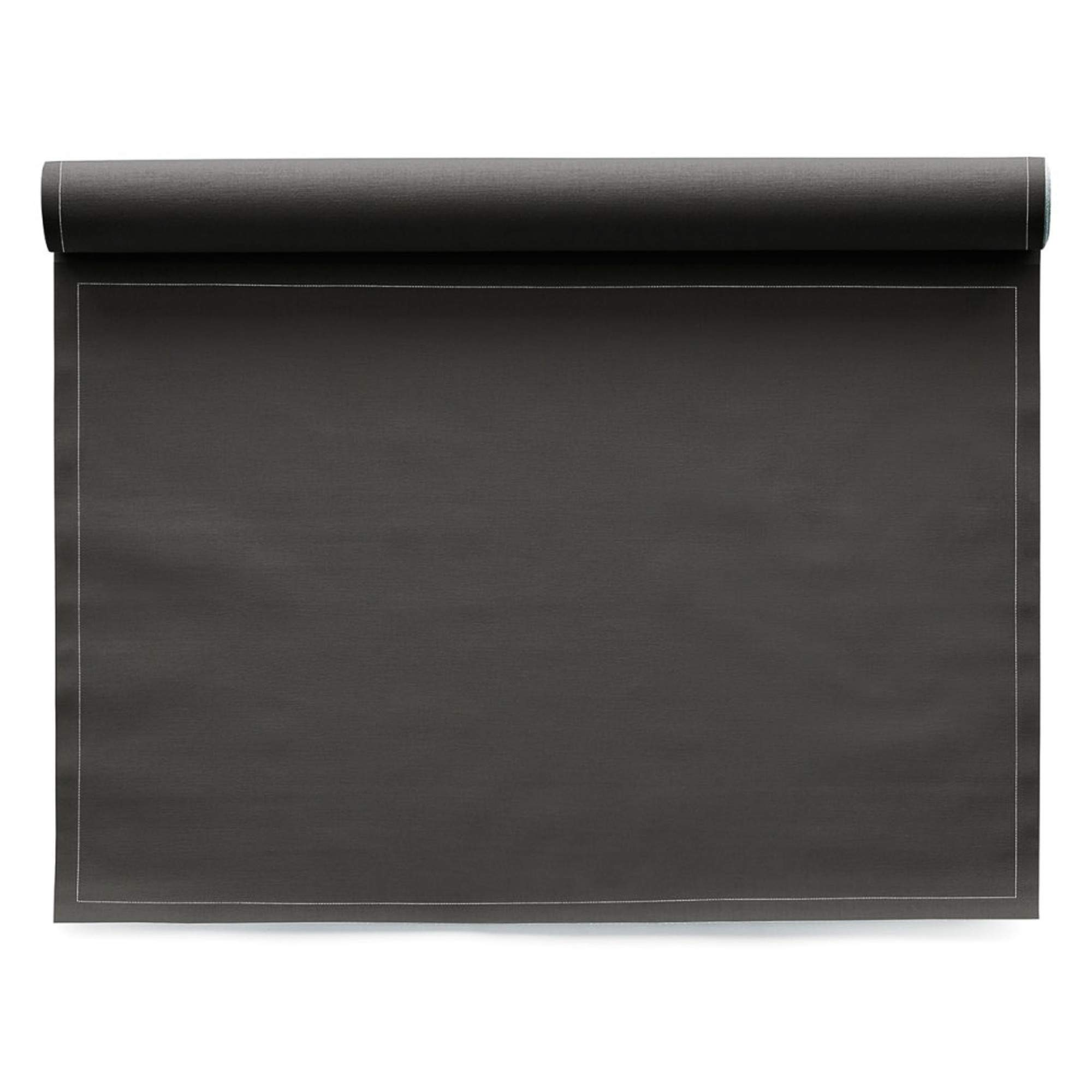 Cotton Placemat - 18.9 x 12.6 in - 12 units per roll - Anthracite by MY DRAP (Image #1)