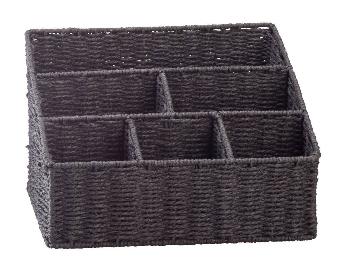 Wicker Mail Sorting Basket