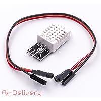 AZDelivery ⭐⭐⭐⭐⭐ DHT 22/AM2302 Capteur de température et d'humidité pour microcontrôleurs Arduino et Raspberry 1x DHT 22 mit Kabel