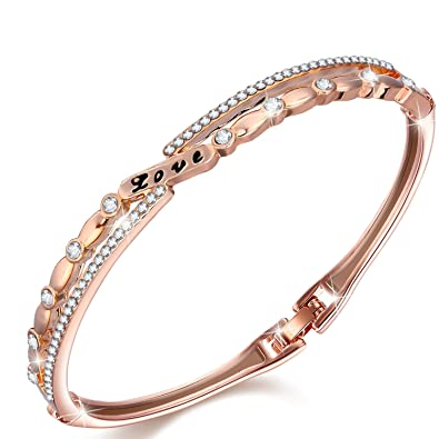 3a6abe36afdb2 J.NINA Bracelet ♥Buy 1, Save USD 13.99♥ Romantic Bangle with ...