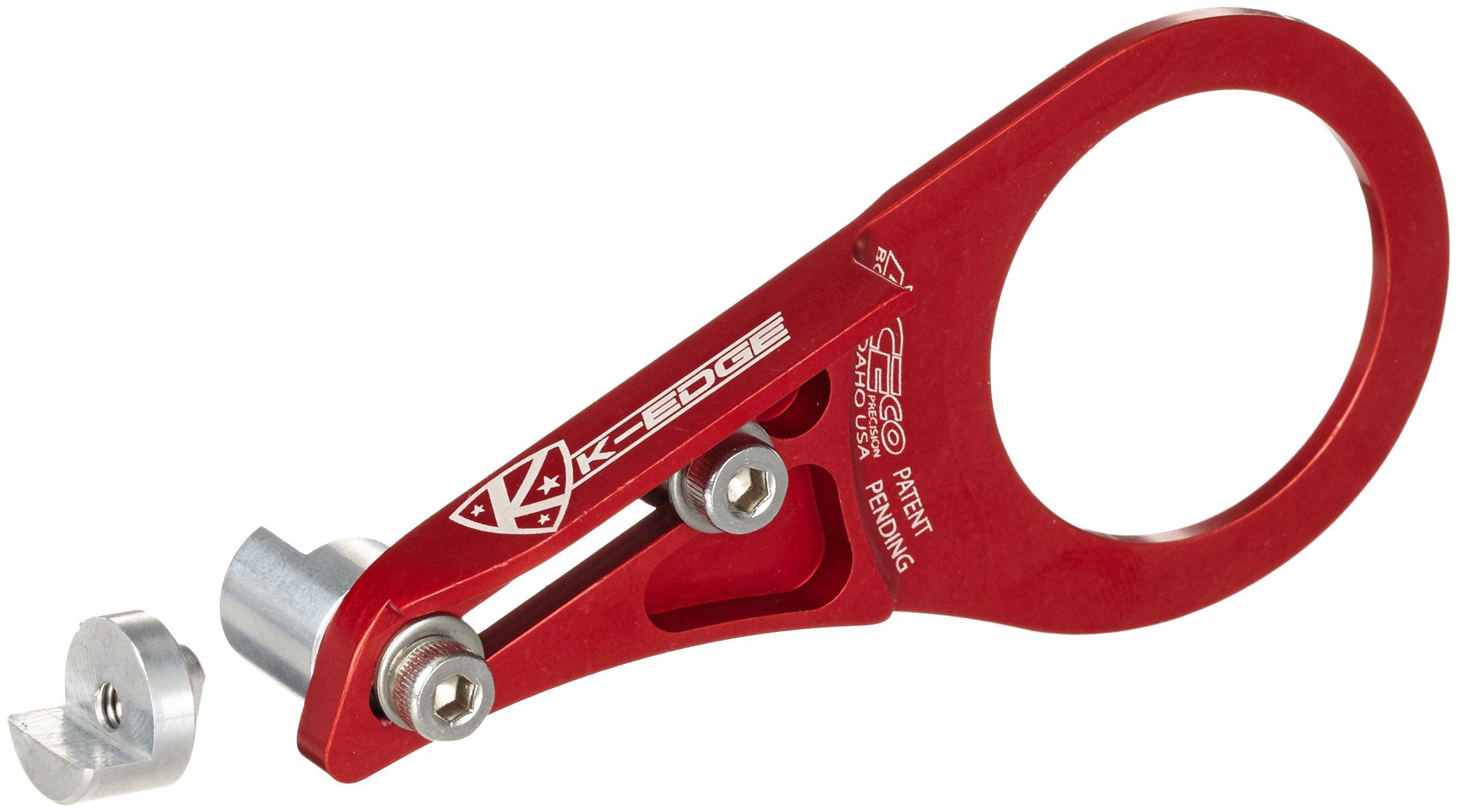 K-Edge ACS Anti-Chain Suck BB Mount Red