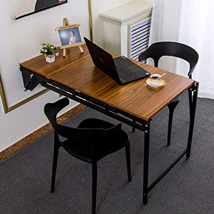 Amazon.com: QJJML - Mesa de comedor de pared, multifunción ...