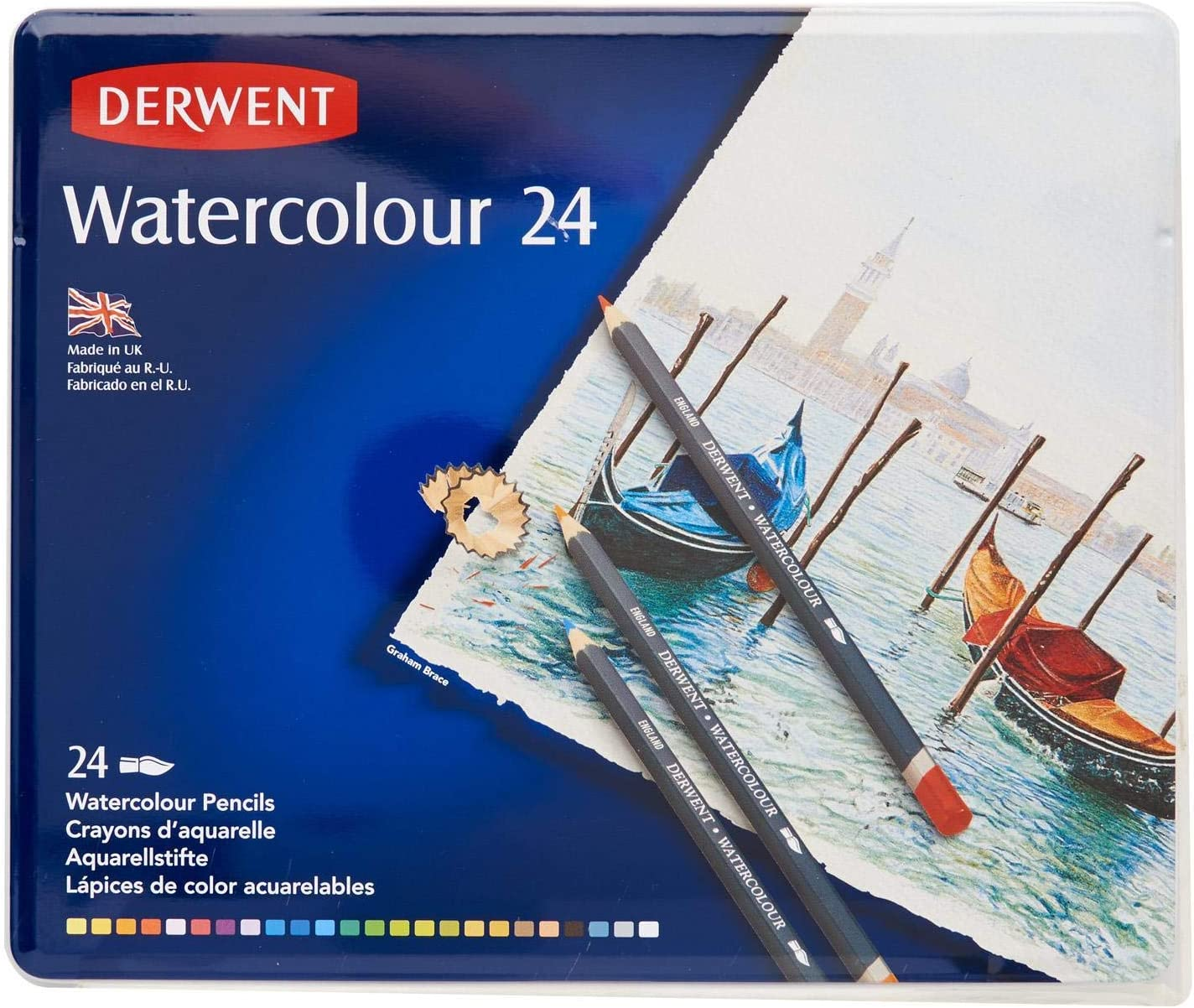 Derwent Colored Pencils, WaterColour, Water Color